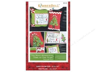 Bareroots Home Decor Patterns: Kimberbell Designs Most Wonderful Time Of The Year Pillow Set Pattern