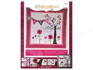 G.E. Designs Clearance Patterns: Kimberbell Designs Let Me Call You Tweet-Heart Wall Hanging Pattern