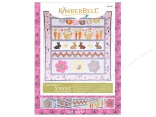 Bareroots Home Decor Patterns: Kimberbell Designs One Sweet Spring Wall Hanging Pattern