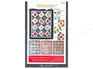 Quilt Woman.com Fat Quarter / Jelly Roll / Charm / Cake Patterns: Kimberbell Designs Perfectly Imperfect Quilt Pattern