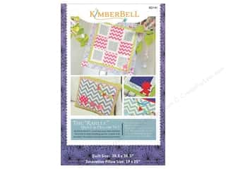 Kimberell Designs $12 - $14: Kimberbell Designs The Karlee Quilt & Pillow Set Pattern