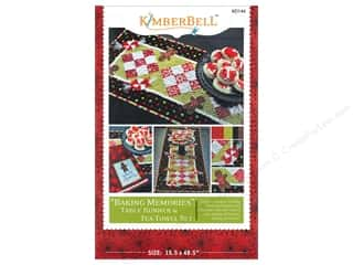Kimberell Designs Table Runners / Kitchen Linen Patterns: Kimberbell Designs Baking Memories Pattern