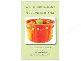 Patterns Aunties Two Patterns: Aunties Two Modern Fruit Bowl Pattern