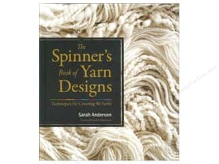 knitting books: Storey Publications The Spinner's Book Of Yarn Designs Book by Sarah Anderson