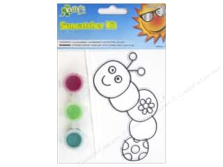 Suncatchers $2 - $3: Kelly's Suncatcher Kit Flower Garden Friends Inch Worm