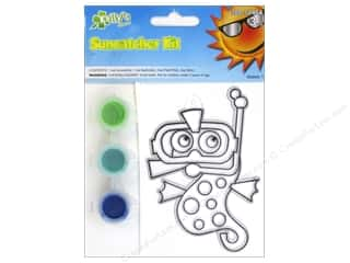 Suncatchers Beach & Nautical: Kelly's Suncatcher Kits Sea Creatures Seahorse