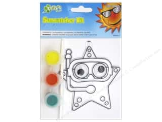 Beach & Nautical Crafting Kits: Kelly's Suncatcher Kits Sea Creatures Starfish
