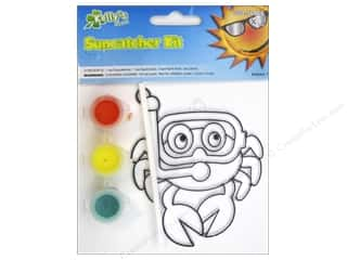 Kelly's Suncatcher Kit Sea Creatures Crab