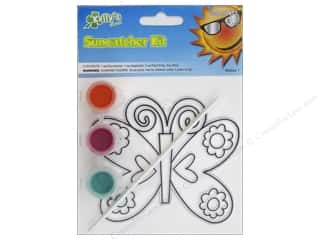 Kelly's Suncatcher Kit Land Far Away Butterfly