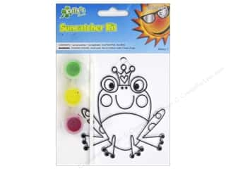 Frogs $4 - $5: Kelly's Suncatcher Kits Land Far Away Frog