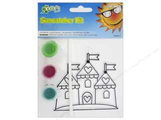 Kelly's Suncatcher Kit Land Far Away Castle