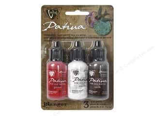 Stamping Ink Pads Beading & Jewelry Making Supplies: Ranger Vintaj Patina Kit Painted Barn
