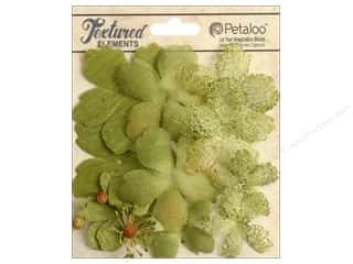 Brandtastic Sale Petaloo: Petaloo Textured Elements Flower Layers Moss Green
