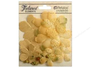 Petaloo Textured Elements Flower Layers Amber