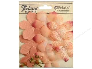Brandtastic Sale Petaloo: Petaloo Textured Elements Flower Layers Apricot