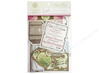 Anna Griffin Die Cut Eleanor Embellishments