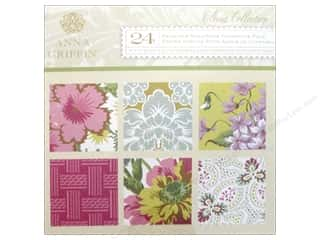 Anna Griffin Paper Pad 6x6 Cardstock Olivia