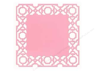 Anna Griffin Paper Die Cuts / Paper Shapes: Anna Griffin 12 x 12 in. Cardstock Die Cut Eleanor Pink (25 pieces)