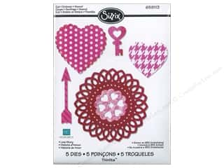 Sizzix Thinlits Die Set 5PK Love Story