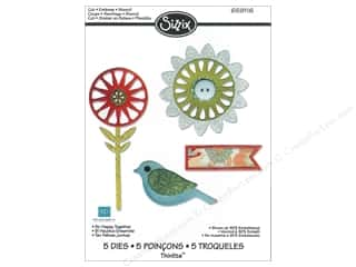 Echo Park Paper Company Sizzix Die: Sizzix Thinlits Die Set 5PK So Happy Together by Echo Park Paper