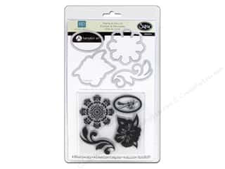 Sizzix Framelits Die Set 4 PK with Stamps For The Record #2