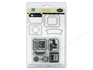 Sizzix Framelits Die Set 6 PK w/Stamps This & That Charming