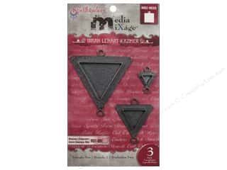 Spellbinders Media Mixage Bezels Triangles Two Silver