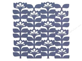 "Anna Griffin Paper Die Cuts / Paper Shapes: Blend Paper 12""x 12"" Gabbie Die Cut Floral Blue (25 pieces)"