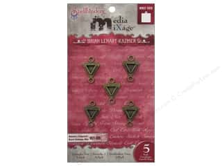 Spellbinders Media Mixage Bezels Triangles Two Bronze 5 pc.