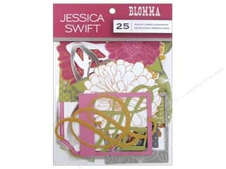 Anna Griffin Paper Die Cuts / Paper Shapes: Blend Die Cut Blomma Embellishment
