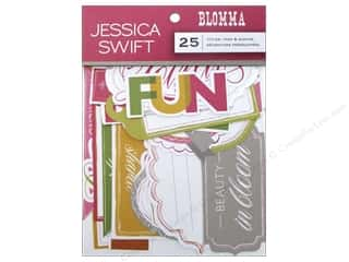 Blend Die Cut Blomma Titles