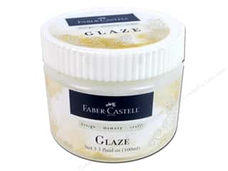 Faber Castell Clear: FaberCastell Prep & Finish Glaze Medium Jar 3.3oz