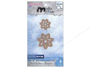 Spellbinders Media Mixage Blank Dies Flowers One