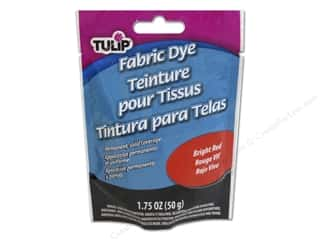 Tulip Permanent Fabric Dye Powder 1.75oz Brt Red