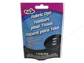 Tulip Permanent Fabric Dye Powder 1.75oz Black