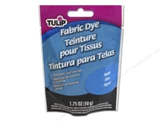 Fabric Clearance Crafts: Tulip Permanent Fabric Dye Powder 1.75 oz. Aqua