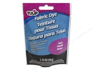 Dyes Clearance Crafts: Tulip Permanent Fabric Dye Powder 1.75 oz. Violet
