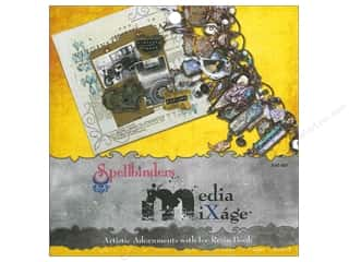 New Dies: Spellbinders Media Mixage Artistic Adornments With Ice Resin Book