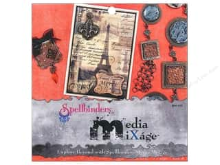 ICE Resin Scrapbooking: Spellbinders Media Mixage Explore Beyond With Spellbinders Media Mixage Book