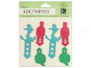 Beach & Nautical Clearance: K&Company Brads Metal Handmade