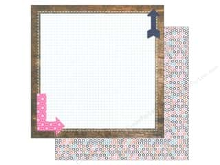 Blend Paper 12x12 Gabbie Arrow (25 piece)