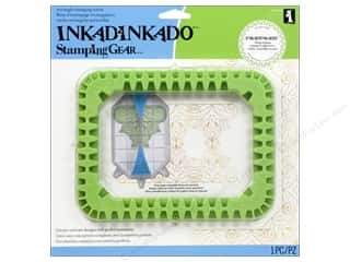 weekly specials Inkadinkado Stamping Gear Stamp: Inkadinkado Stamping Gear Rectangle Wheel