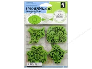 Inkadinkado Stamping Gear Stamp Cling Antiquity