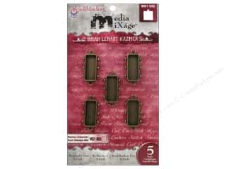 Spellbinders Media Mixage Bezels Rectangles One Bronze 5 pc.