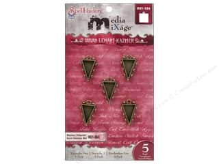 Spellbinders Media Mixage Bezels Triangles One Bronze 5 pc.