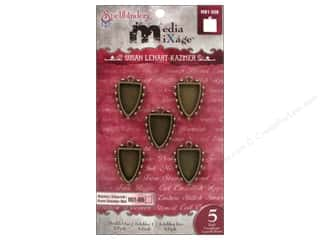 Spellbinders Media Mixage Bezels Shields One Bronze 5 pc.
