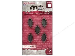Spellbinders Media Mixage Bezels Ovals One Silver 5 pc.