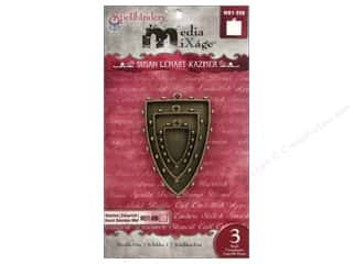Spellbinders Media Mixage Bezels Shields One Bronze