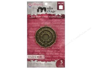 Spellbinders Media Mixage Bezels Circles Three Bronze