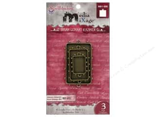 Spellbinders Media Mixage Bezels Rectangle Two Bronze